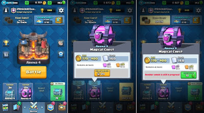 Free Magical Chest Clash Royale