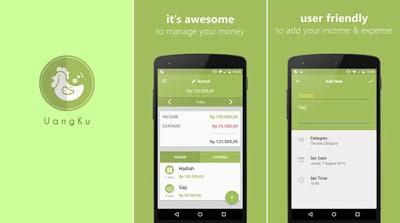 UangKu - Manajemen Keuangan Android
