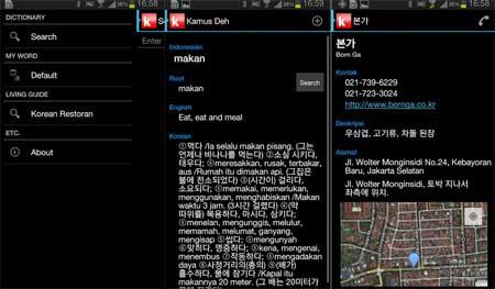 Kamus bahas korea