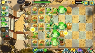 Strategi Bermain Plants vs. Zombies 2