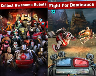 Iron Kill Robot Fighting Games