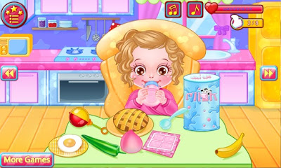 Baby Caring Games with Anna