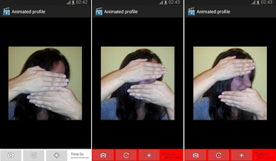 Animated profile for BBM