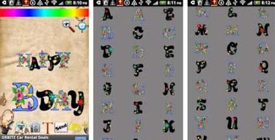 Alphabet stickers Doodle Text!