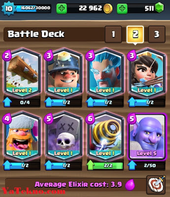 Kartu Legendary Clash Royale