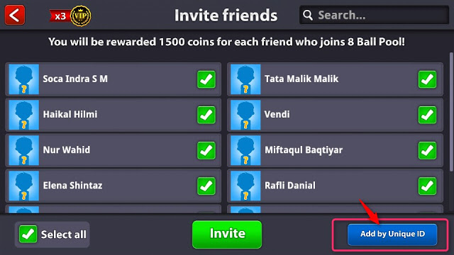 Add by Unique ID