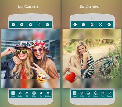 Blur Camera: Square Photo Blur