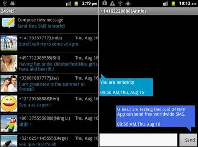 24SMS - Free International SMS