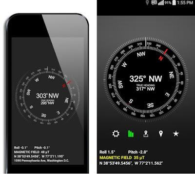 LED Compass