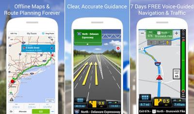 CoPilot GPS Peta Offline