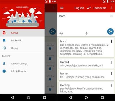 Top 10 Aplikasi Kamus Bahasa Inggris Terbaik Untuk Android