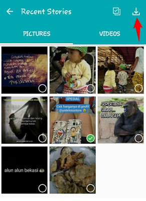 Save Foto/Video dari Status Whatsapp