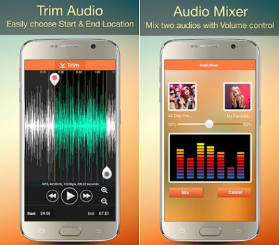 Audio MP3 Cutter Mix Converter and Ringtone Maker