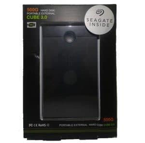 Seagate Cube 3.0 Harddisk Eksternal 500GB