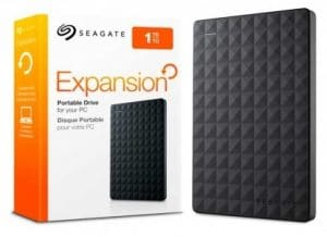 Seagate Expansion Harddisk Eksternal 1TB