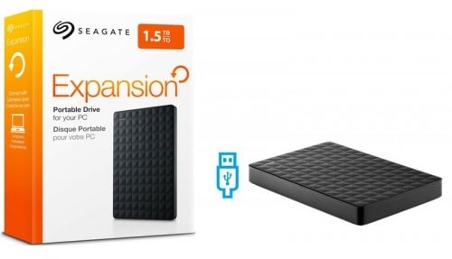 Seagate Expansion Portable Drive 1.5TB