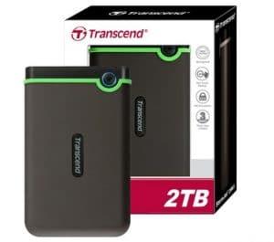 Transcend Harddisk Eksternal Antishock StoreJet 25M3 2TB