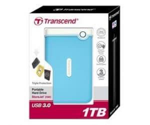 Transcend Harddisk External 1TB Storejet 25M3B