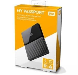 WD My Passport New Design 4TB