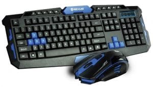 Rexus Warfaction VR2 + Mouse Gaming Wireless Combo RX-V2