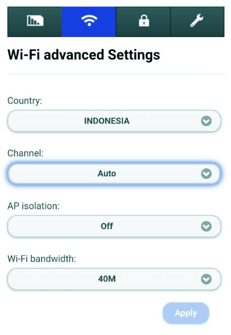 Mengubah Channel Router